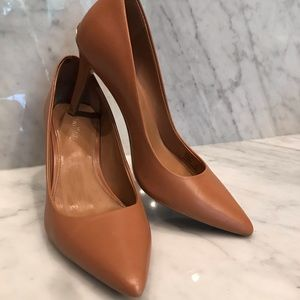 Low tan CK heels MAKE OFFER